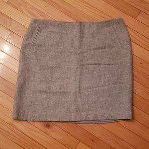 Gray Womens Talbots Skirt